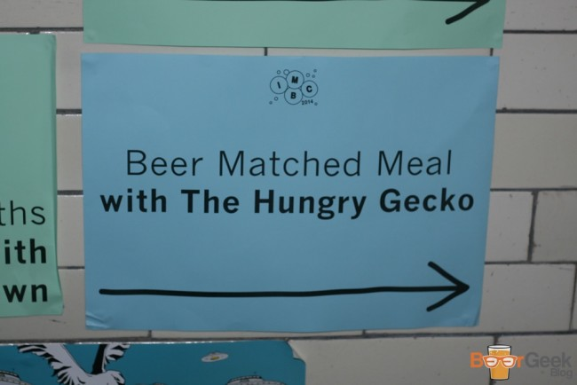 Hungry Gecko Beer Matched Meal