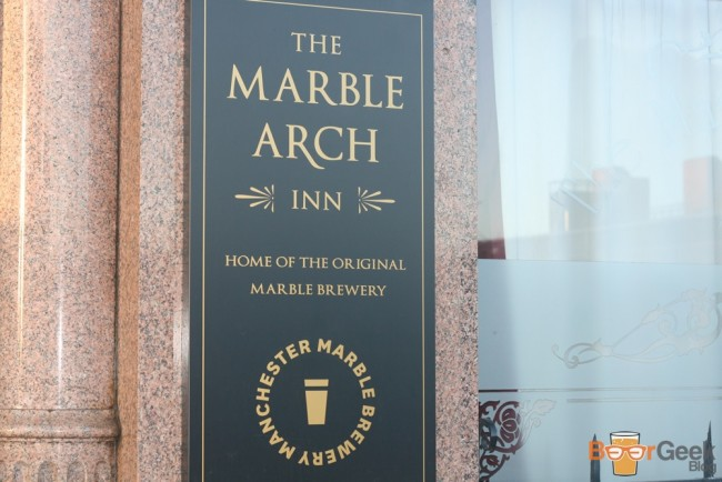 Outside The Marble Arch Inn, Manchester