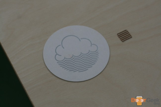 Cloudwater Beer Mat