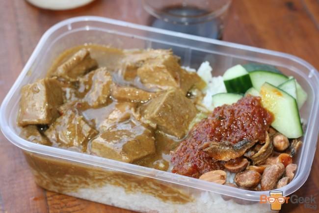 Nasi Lemak: Beef Rendang