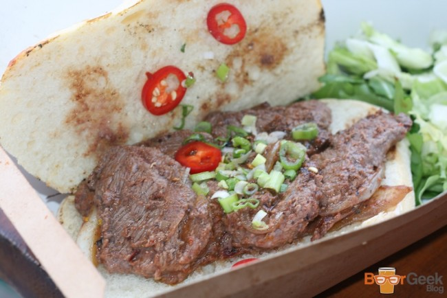 Nasi Lemak: Korean Chilli Flat Iron Steak