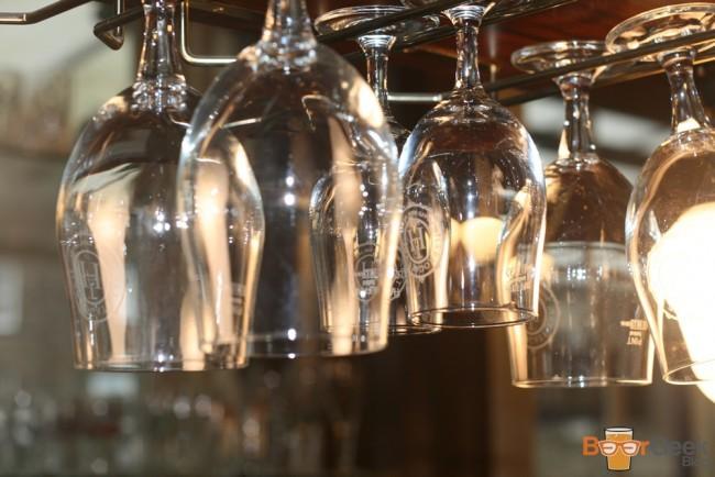 Glasses At Bar