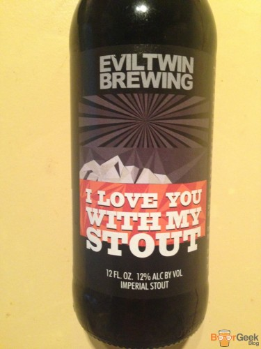 Evil Twin Brewing - I Love You With My Stout