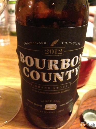 Goose Island - Bourbon County (2012)