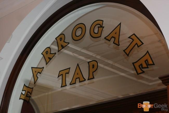 Inside Harrogate Tap