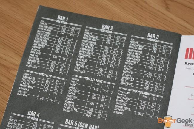 Programme Beers