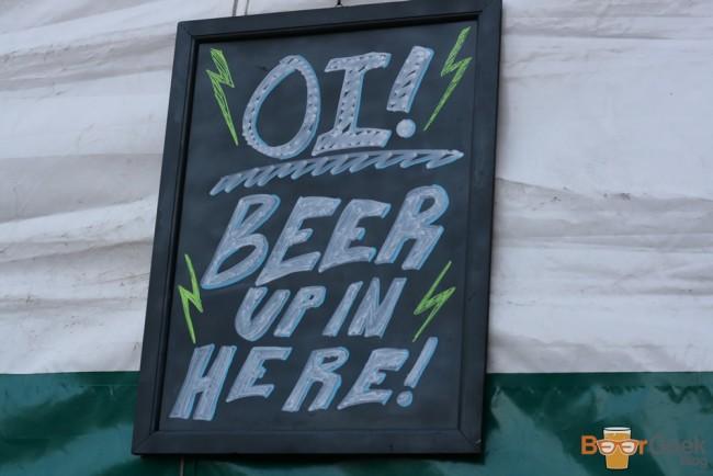 Beer Tent Sign