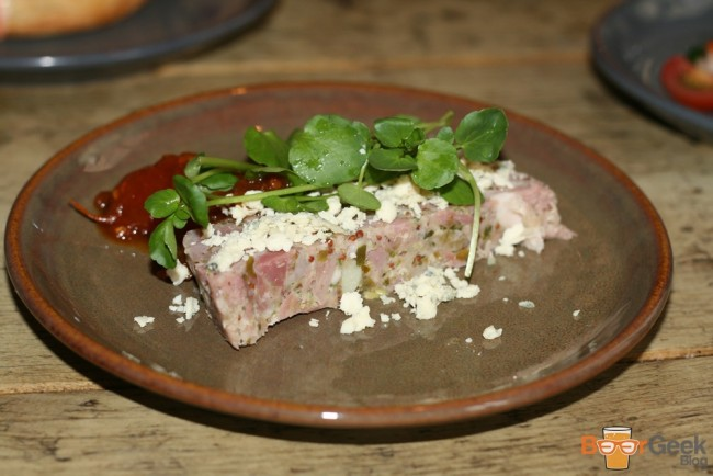 Smoked Ham Hock Terrine with Onions & Capers