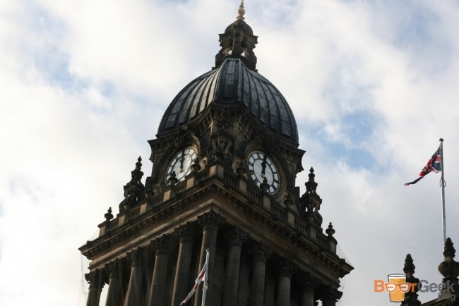 Leeds Town Hall Close Up
