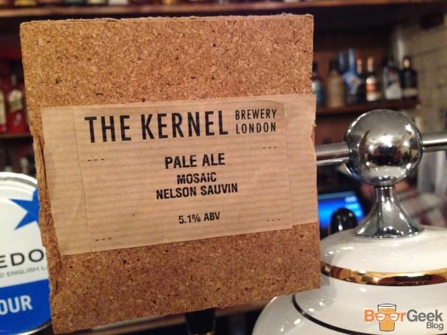 The Kernel - Pale Ale Mosaic Nelson Sauvin