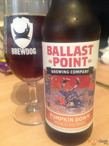 Ballast Point - Pumpkin Down