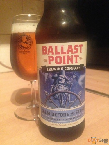 Ballast Point Brewing Company - Calm Before The Storm