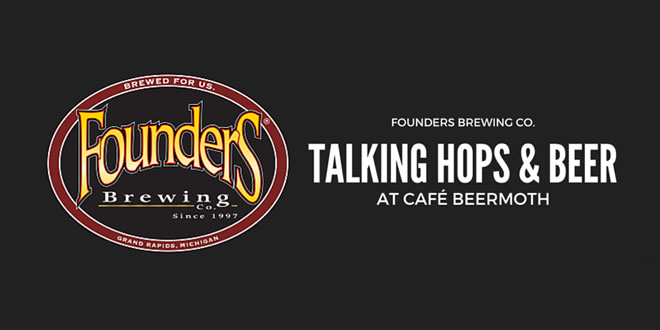 Cafe Beermoth - Founders Brewing Talk