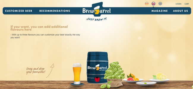 BrewBarrel Website