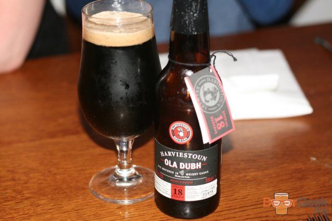 Harviestoun - Ola Dubh 18 Year Special Reserve
