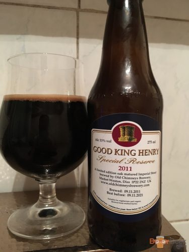 Old Chimneys - Good King Henry (Special Reserve 2011)