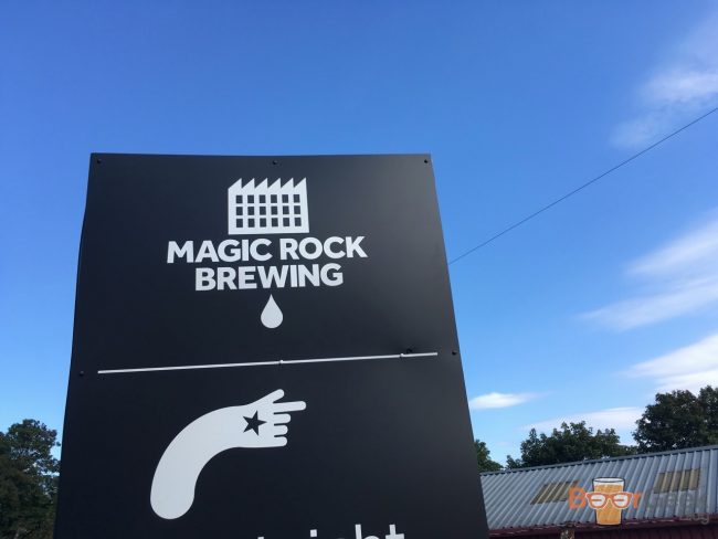 Outside Magic Rock Tap