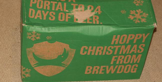 Brewdog advent calendar 2016 1 3 beer geek beer blog for Craft beer advent calendar 2017